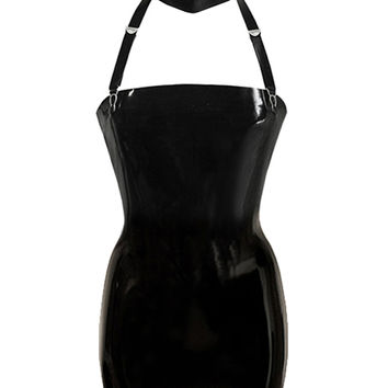 Bespoke Shop | Shop Atsuko Kudo Latex Restricted Strapless Mini Dress