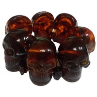 Kreepsville 666 Amber Skull Collection Bracelet | Kreepsville 666