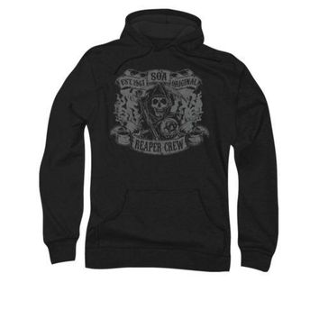 Sons Of Anarchy Reaper Crew Licensed Adult Pullover Hoodie