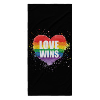LGBT Gay Pride Beach Towel by Living Gay | LGBT Beach Towel, Gay Beach Towel, Lesbian Beach Towel