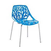 Tree of Life Side Chair in Blue