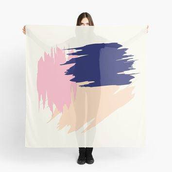 'Pink Blush' Scarf by Space & Lines