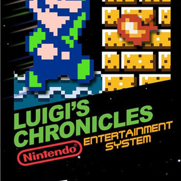 Luigi's Chronicles - Nintendo NES (New - Game Only)
