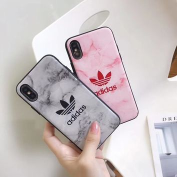 Marble ADIDAS Case for iPhone