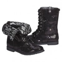 Sequin Foldover Boots | Girls Boots Shoes | Shop Justice