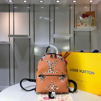 Kuyou Gb29726 Lv Louis Vuitto M41560 Monogram Handbags Monogram Bags Palm Springs Backpack Pm02 21*31*10cm