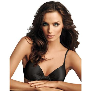 Maidenform; Comfort Devotion; Tailored Plunge Push-Up Bra