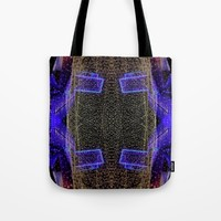 City Synthesis Tote Bag by RichCaspian