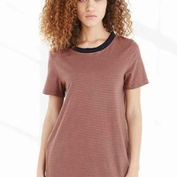 Truly Madly Deeply Tomboy Ringer Tee