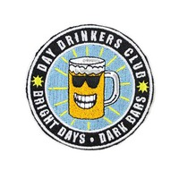 Day Drinkers Club Patch