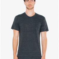 Tri-Blend Crewneck Pocket T-Shirt | American Apparel