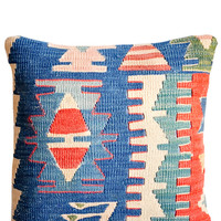 "16"" Kilim Pillow, Oceanic Tribe"