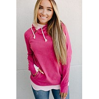 Ampersand Ave. Double Hoodie (Petals & Promises)