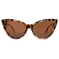 Tortoise Vintage Cat Eye Deadstock Sunglasses