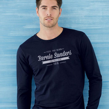 Bernie Sanders For President Long Sleeve T-shirt
