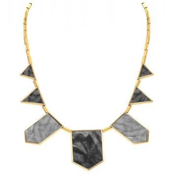 House of Harlow 1960 Jewelry Five Station Necklace
