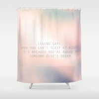Legend Says Shower Curtain by Rui Faria
