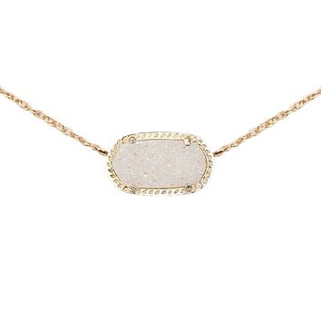 Elisa Pendant in Iridescent Drusy - Kendra Scott Jewelry
