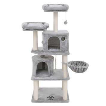 "58"" Buzzell Multi-Level Cat Tree or Condo"