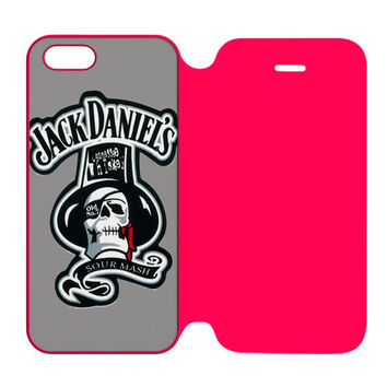 Jack Daniel S Astronaut iPhone 5 | 5S Flip Case Cover