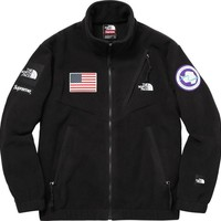 cc kuyou Supreme x The North Face Fleece Jacket