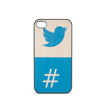 Twitter Hashtag iPhone 4 / 4s Case
