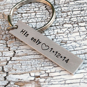 Custom Keychain, Couples Keychains, Personalized keychain, Geek key chain