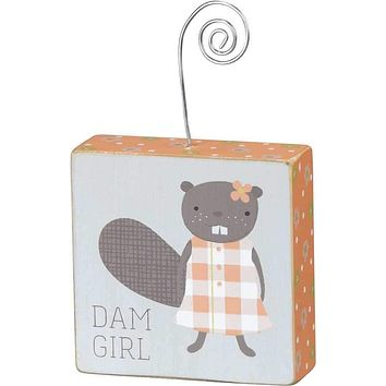 Dam Girl Photo Block