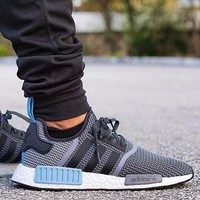 "Best Online Sale Adidas NMD R1 Core Grey Blue City Pack ""Argentina""  S79159 Boost Sport Running Shoes Classic Casual Shoes Sneakers"