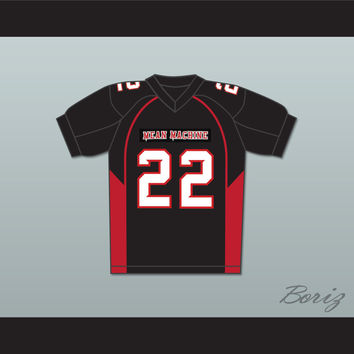 Burt Reynolds 22 Coach Scarborough Mean Machine Convicts Football Jersey