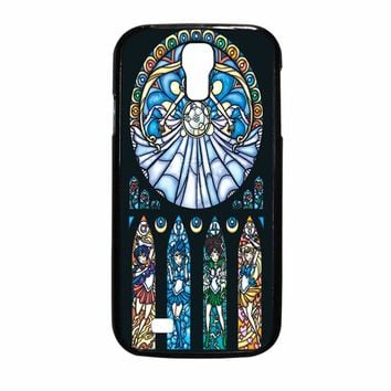 Sailor Moon Stained Glass Samsung Galaxy S4 Case