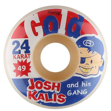 Gold Wheels Josh Kalis Bazooka