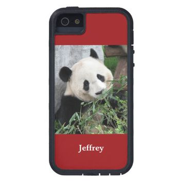 iPhone SE, iPhone 5/5s Case Giant Panda Red