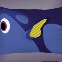 Top Dory Finding Nemo Disney Movie Best Pillow Case 16 x 24 20 x 26 2 Side Cover