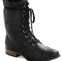 I Finally Found You Boot in Black | Mod Retro Vintage Boots | ModCloth.com