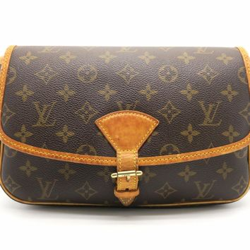 Louis Vuitton Monogram Sologne Shoulder Bag Brown M42250 8469