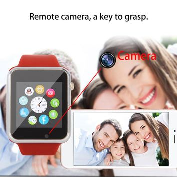 Original A1 Bluetooth Smart Watch Step Counting Sport Tool Remote Camera and Sync Function for Android Mobile Phone