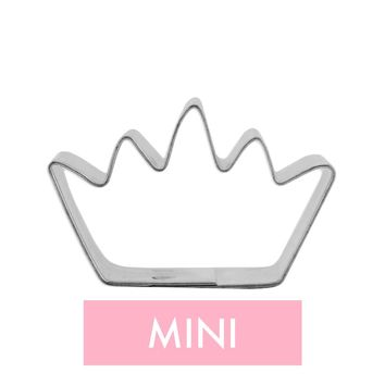 Mini Crown Cookie Cutter