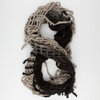 Ombre Fringe Infinity Scarf | Scarves