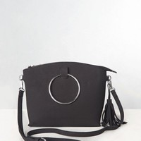 Ember Black Mini Tote Bag Missy Empire