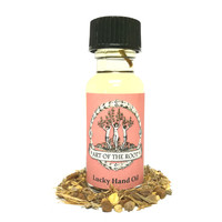 Lucky Hand Oil for Hoodoo, Voodoo, Wicca & Pagan Rituals
