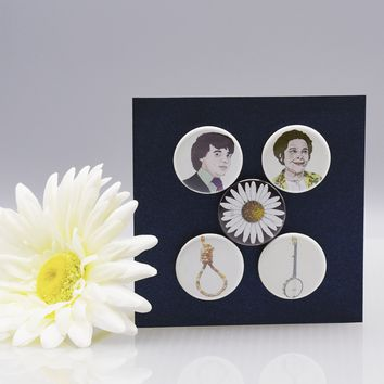 """Harold and Maude"" Magnet Set"