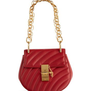 Chloé Mini Drew Bijoux Leather Shoulder Bag | Nordstrom