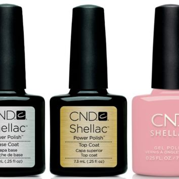 CND - Shellac Combo - Base, Top & Forever Yours
