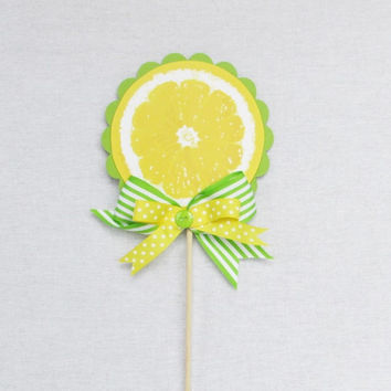 Lemon and Lime Cake Topper