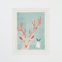 'Tis the Season Tea Towel, Deer