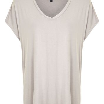 PETITE Side Split T-Shirt | Topshop