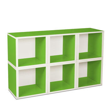 I liked this design on #Fab. Modular Cube Green Set Of 6