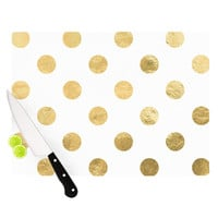 "KESS Original ""Scattered Gold"" Cutting Board"
