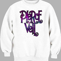 Pierce The Veil Logo Galaxy Sweater for Mens Sweater and Womens Sweater *
